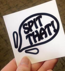 SpitThat!'s official logo.