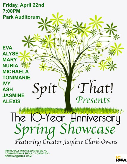 Annual Spring Showcase Poster of 2016